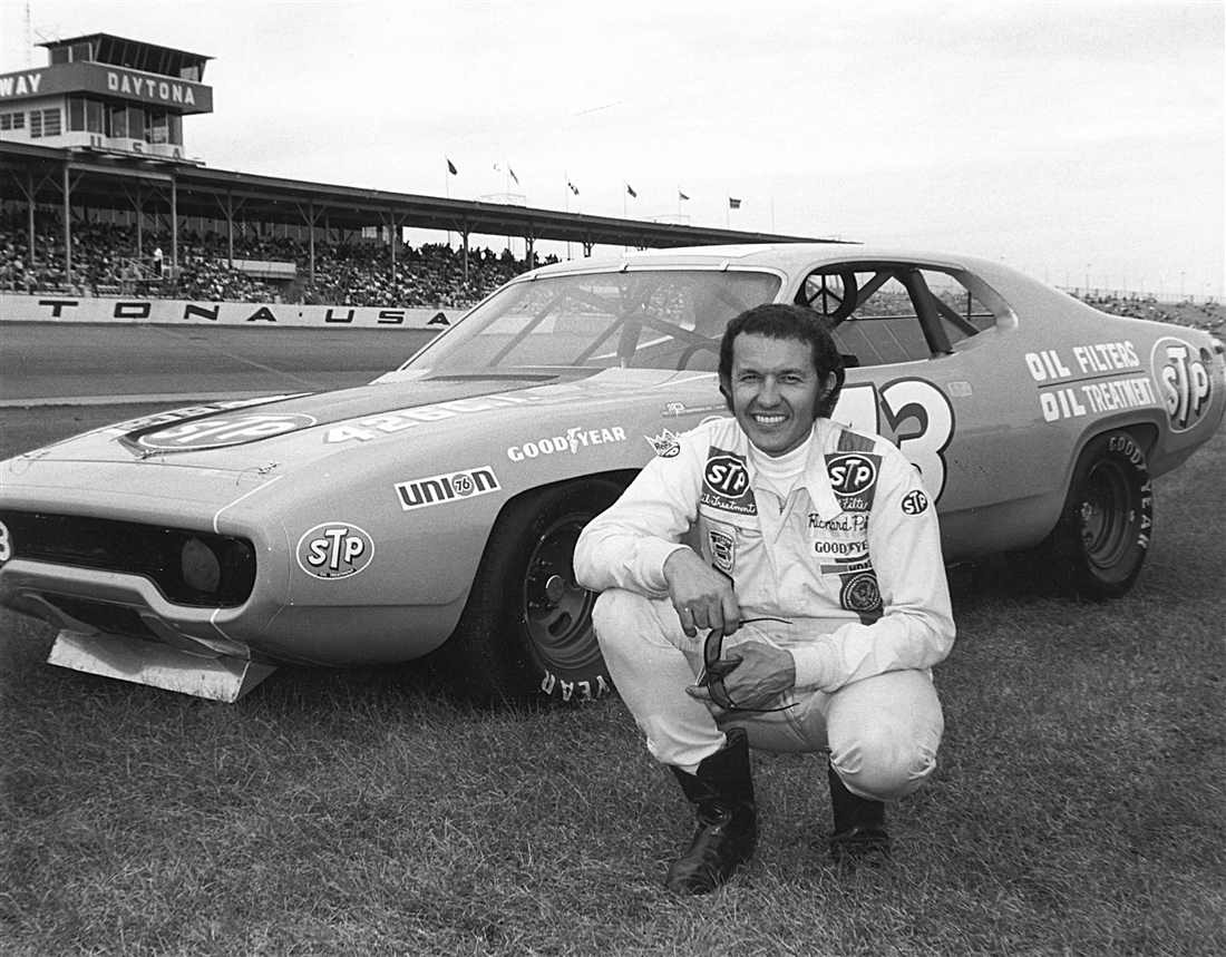 Richard Petty, 1972  Photo Credit: ISC Archives via Getty Images