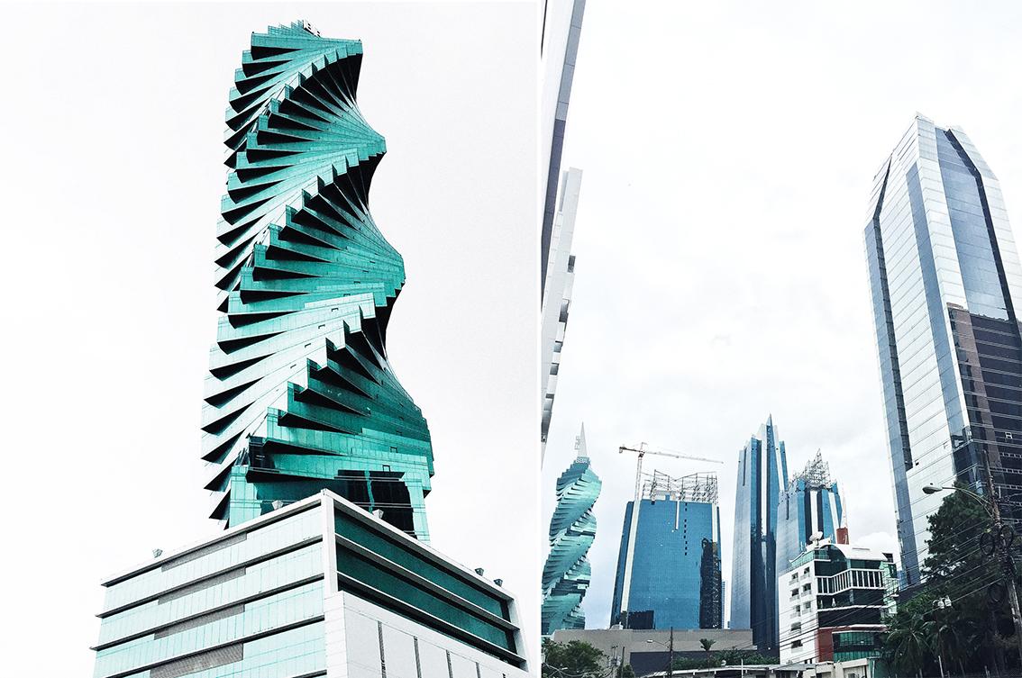 El  F&F Tower , el famoso edificio tornillo.