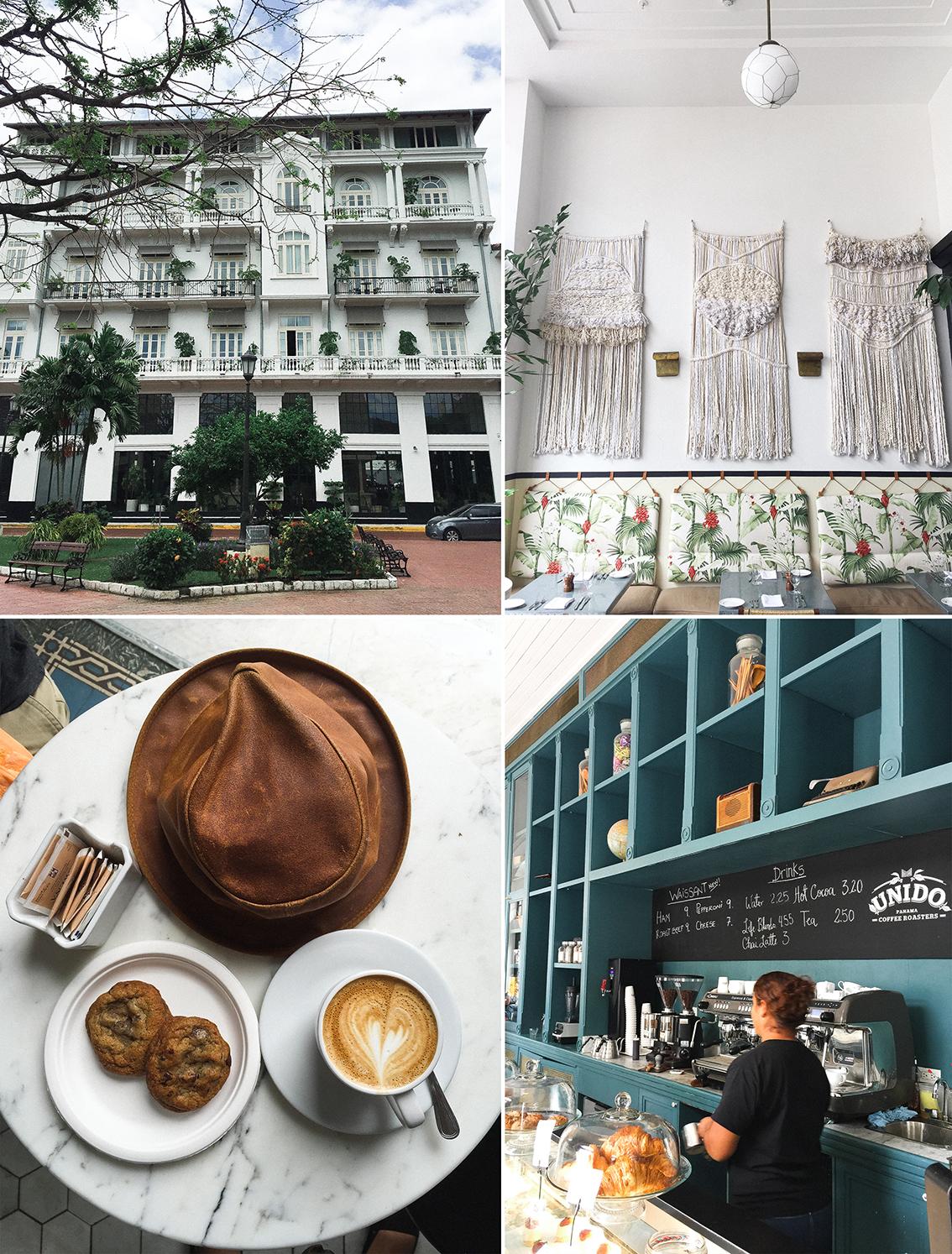 Café Unido  en el  Hotel American Trade , dos lugares que debes visitar en Casco Viejo.