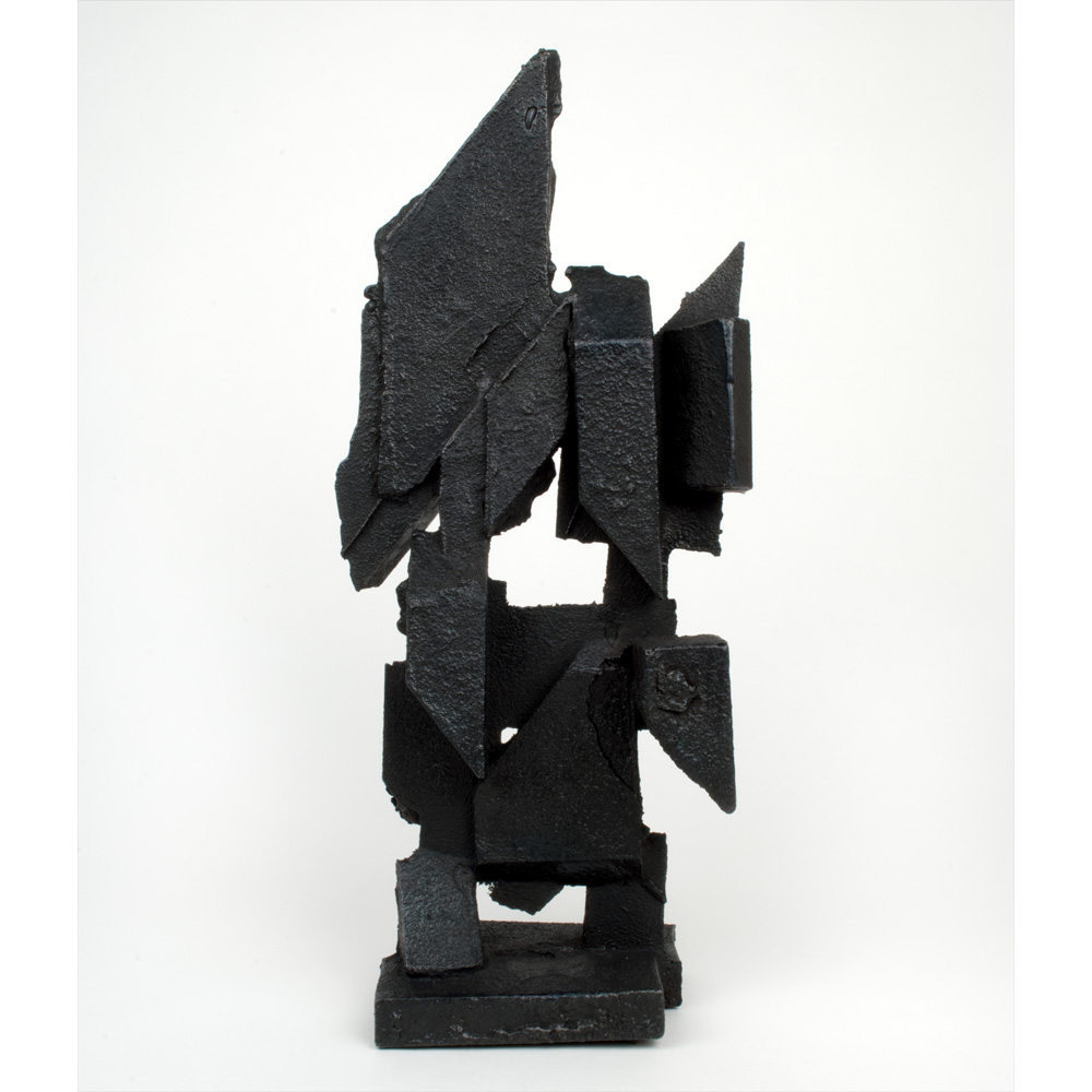 The Hierophant  2013 cast iron 16 x 6 x 4 inches
