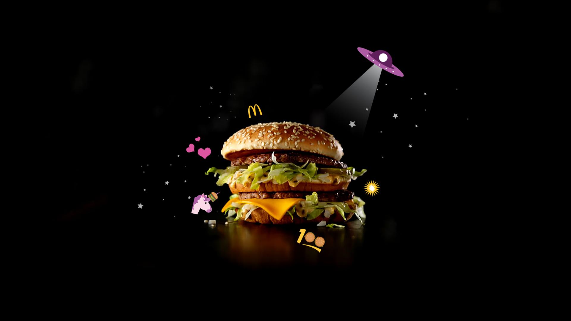 Big Mac emojis -