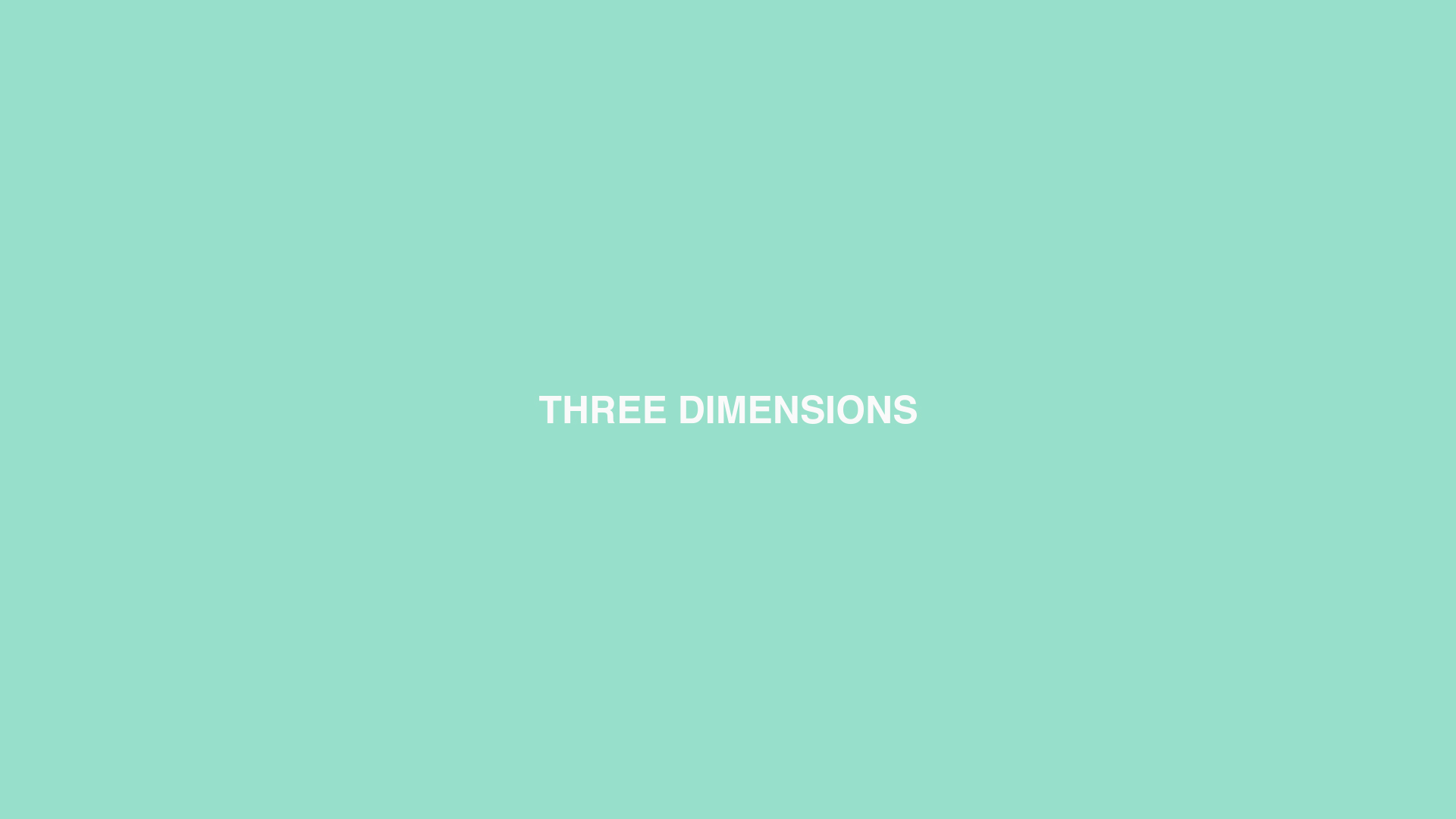 THREE DIMENSIONS Green.jpg