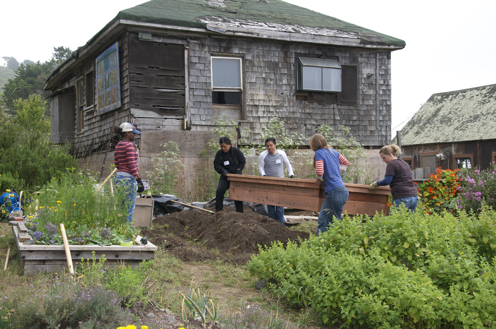 Clif Bar Volunteer Day At Slide Ranch - garden bed making_2(1000px).jpg
