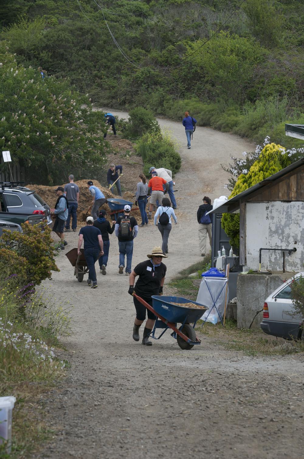Clif Bar Volunteer Day At Slide Ranch - mulching_2(1000px).jpg