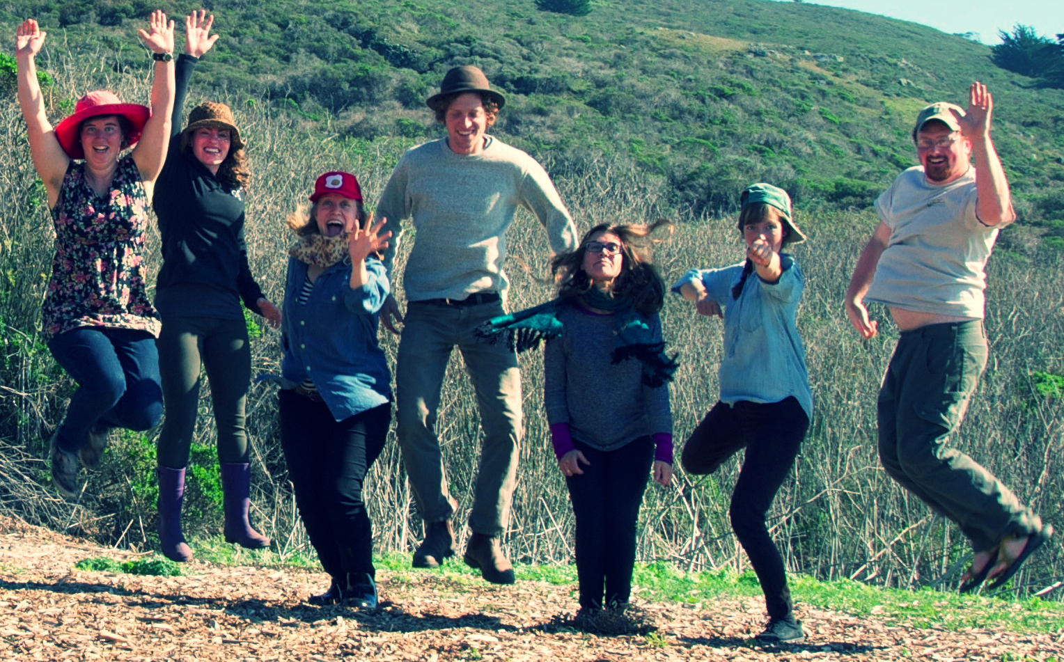 The new Slide Ranch teachers are jumping at the opportunity to meet you.