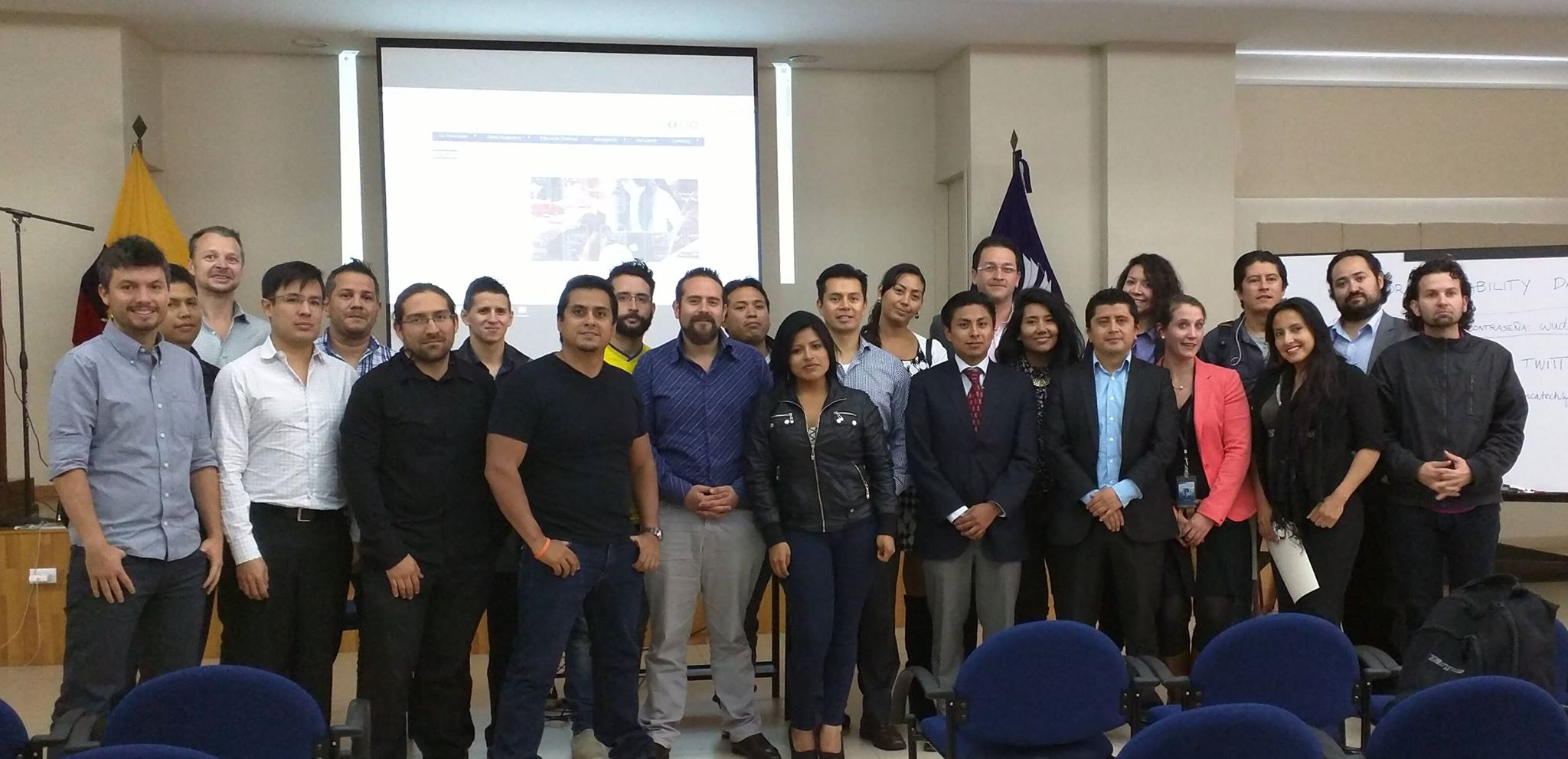 UXPA Ecuador - World Usability Day 2015 - Universidad Tecnológica Indoamérica