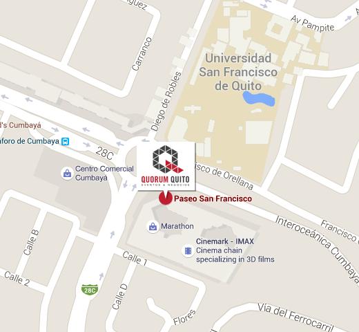AV. INTEROCEÁNICA Y FRANCISCO DE ORELLANA ESQ., E28C