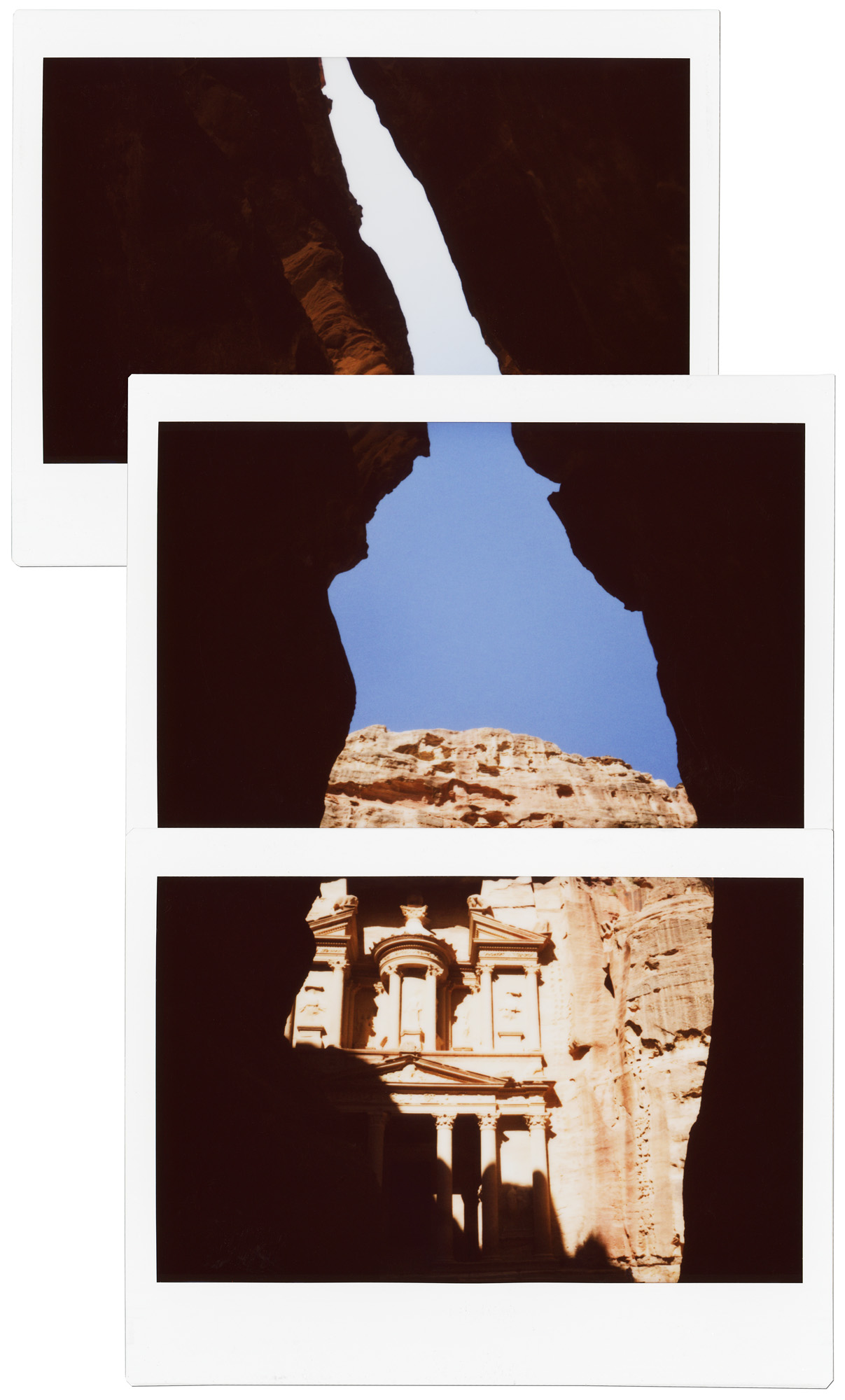 Treasury Through Siq // Petra, Jordan