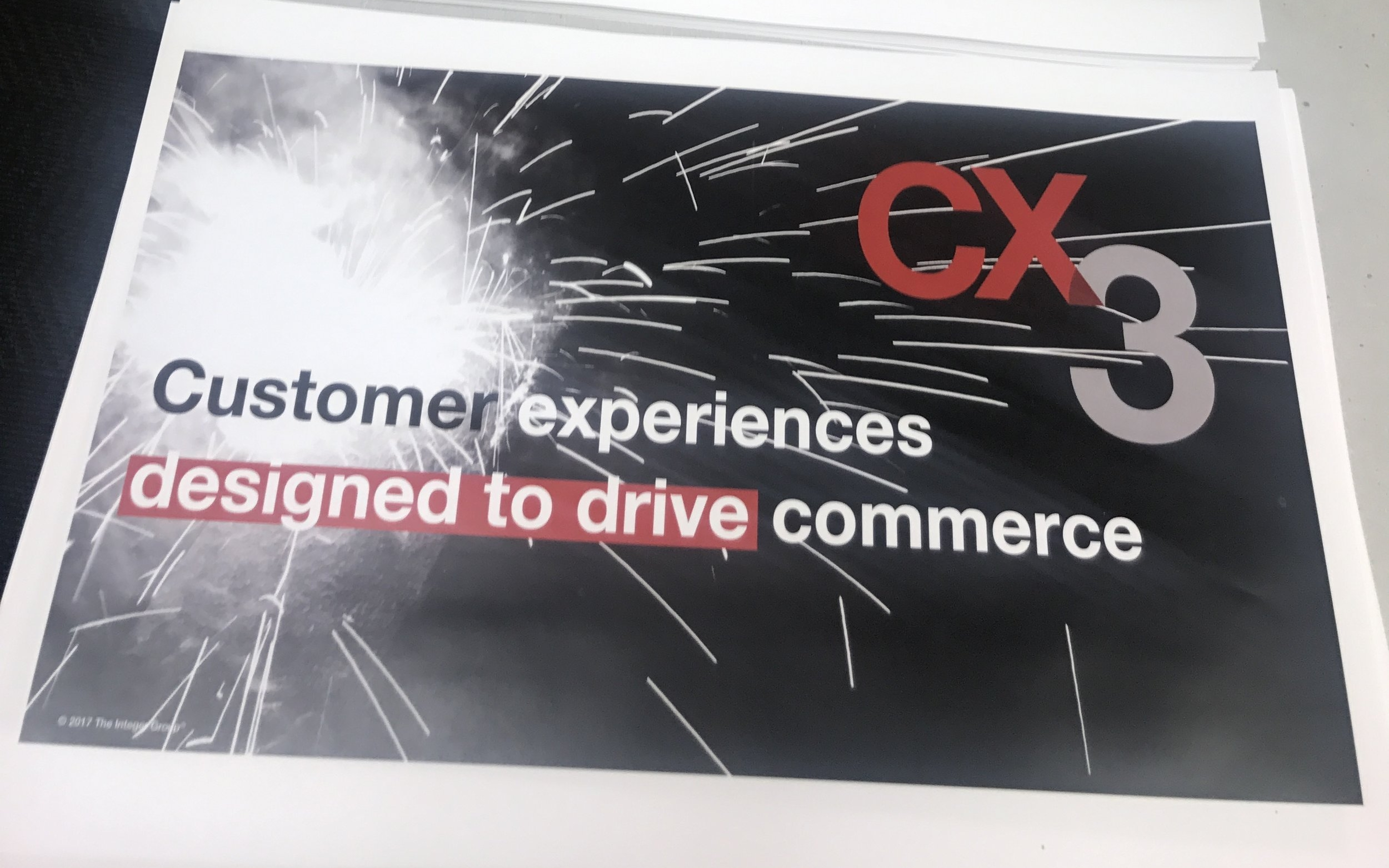 CX3 is Integer Groups proprietary CX transformation methodology