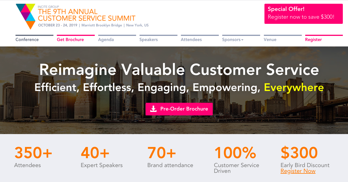 Incite Customer Service Summit
