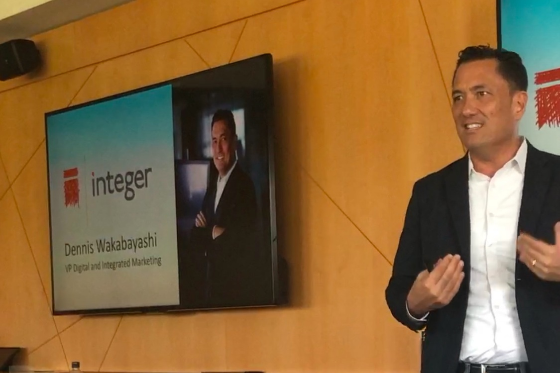 Dennis Wakabayashi: VP of Digital and Integrated Marketing for The Integer Group at Colorado Ad Day 2019