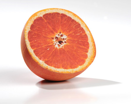 Paper-printed orange (Image Credit:  Mcor and Inside3DP.com