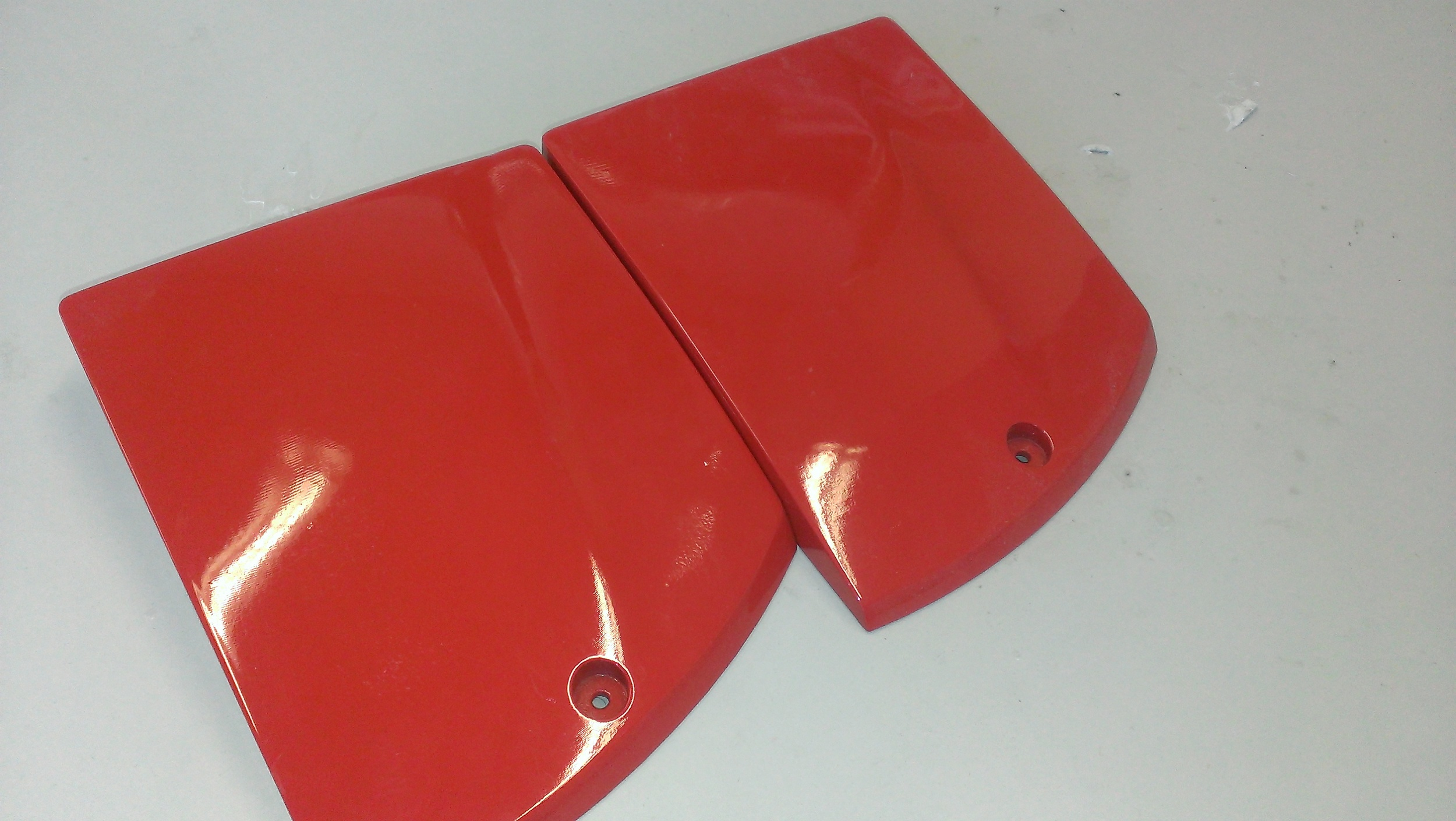 Gloss Finish Body Pieces for Ryno Motor Bike.