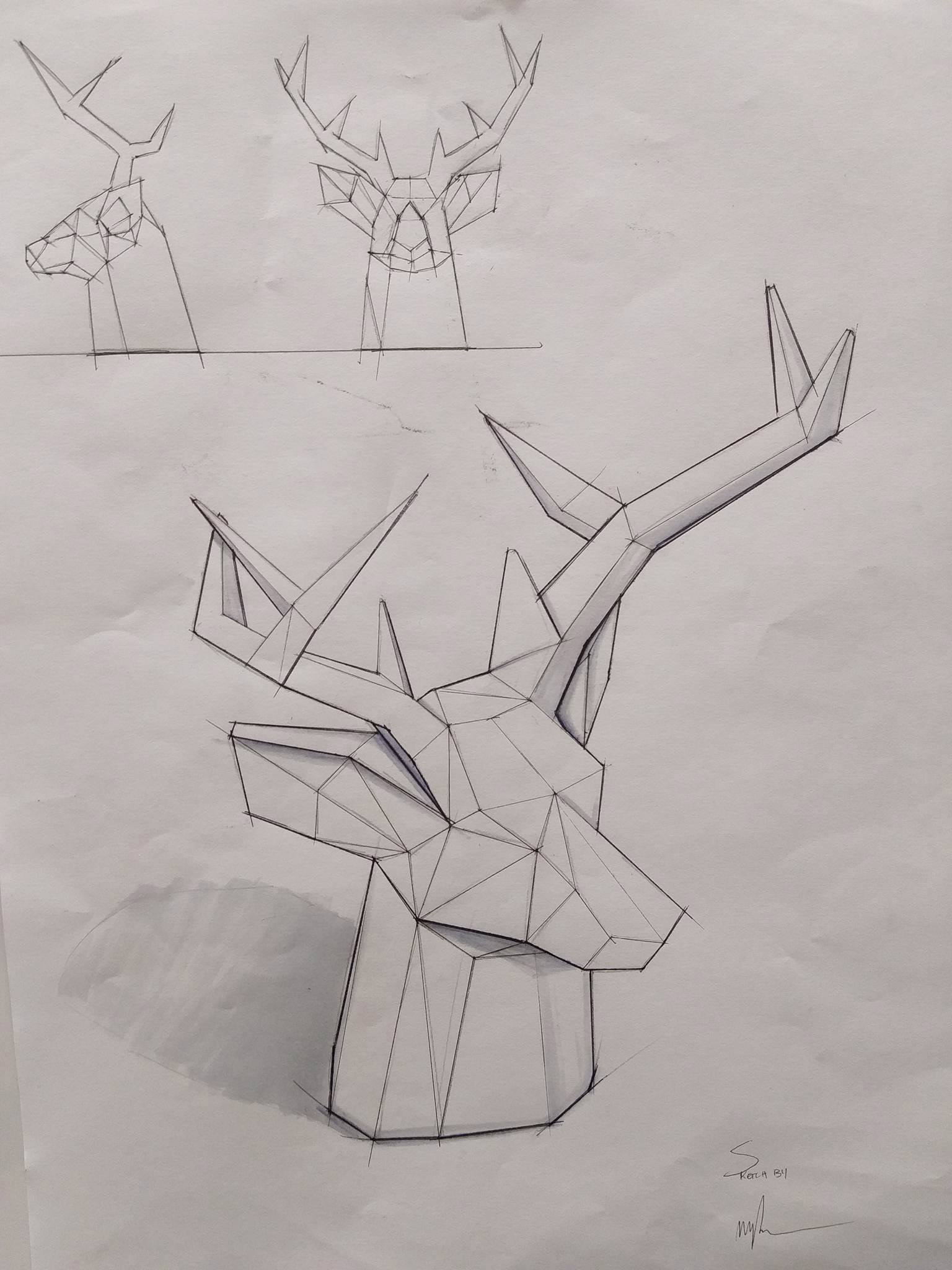 Stag Concept Sketch