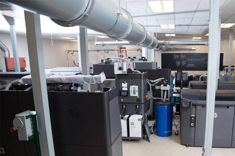 HP's new research facility (Image Credit - HP)