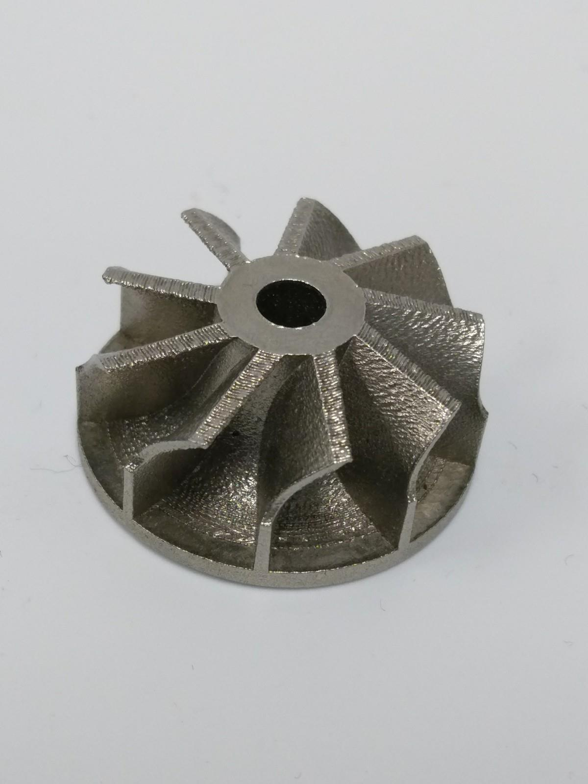 3d printed metal fan