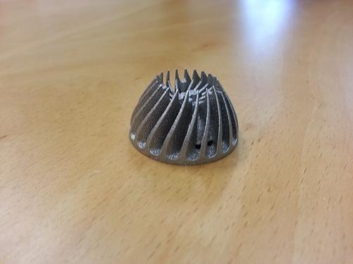 Metal 3d printing spiral