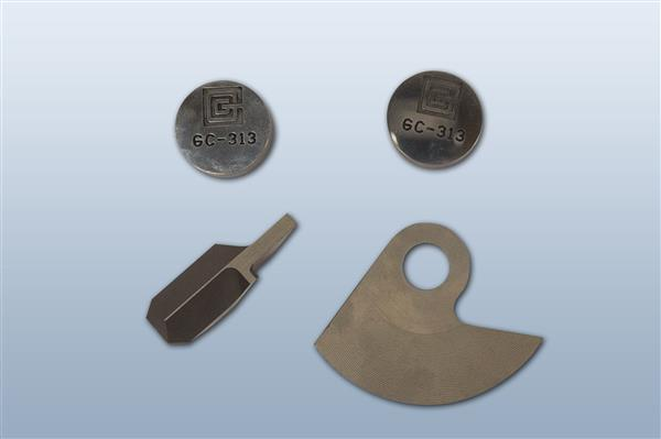 Carbide Parts provided by General Carbide Corporation (photo chredit University of Pittsburgh)