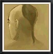 An Illustration of a Brahmin Man Sporting a Shikha