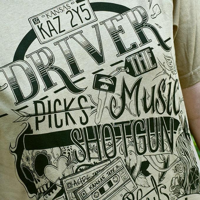 Dean Winchester T-shirts