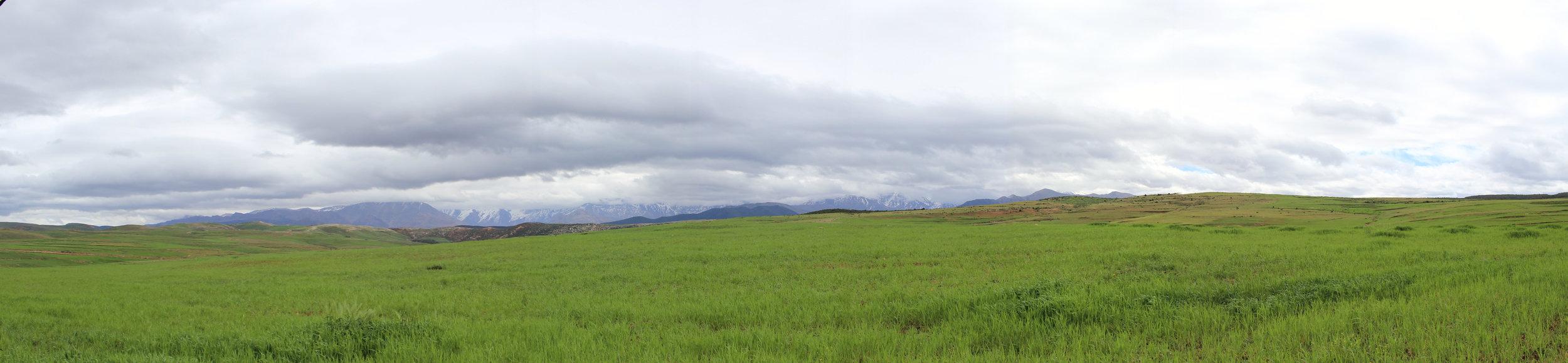 Morocco Running Panorama