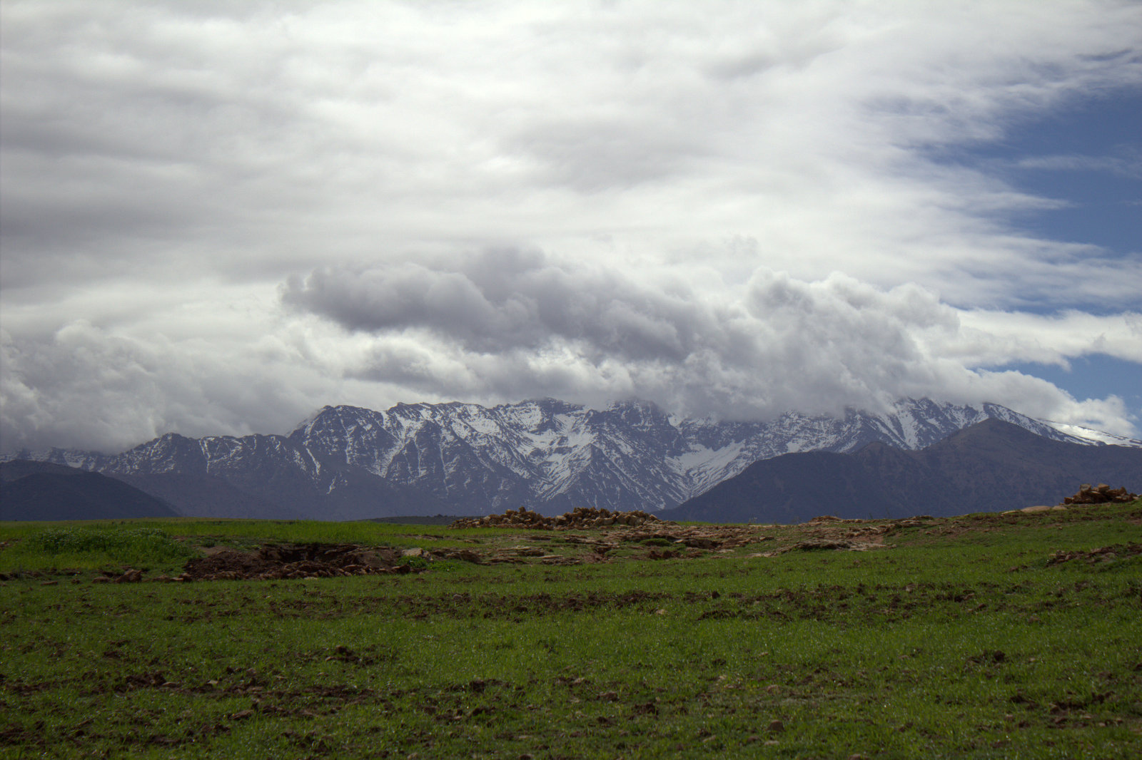Snow Covered Atlas Mountains