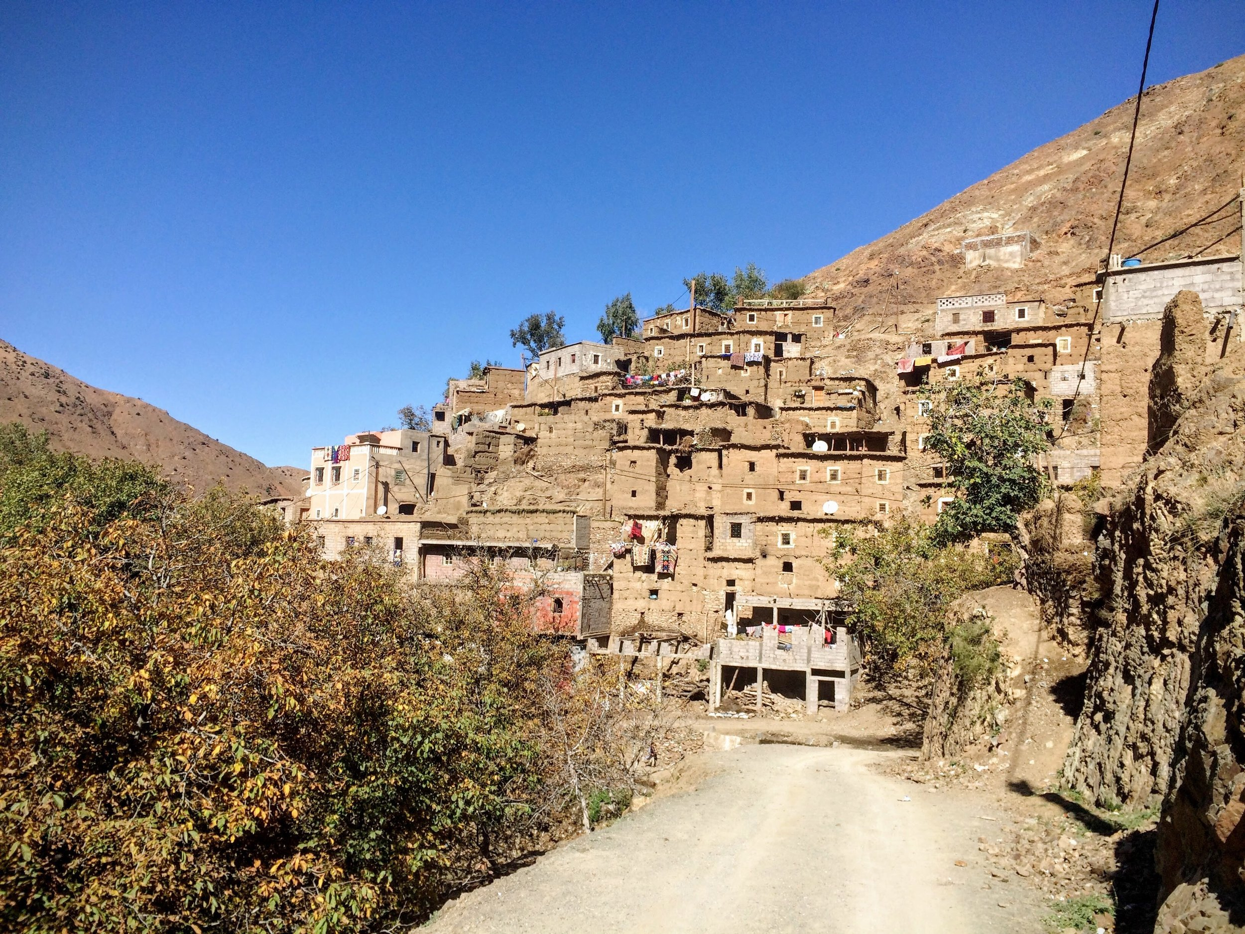 One of the many mountain villages we passed through during the race
