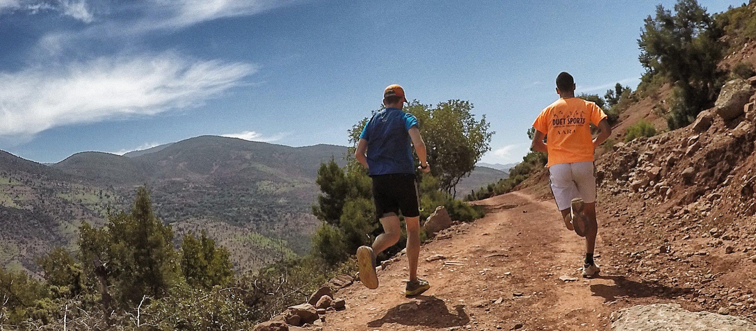 morocco trail running