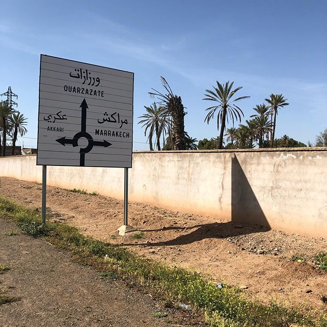 Love seeing the sign for home when out for a run or ride. #runninginmorocco #runmorocco #sightrunning #goforarun #training #igersmorocco #igrunning #health #run #runners #running #morocco #travel #runnerslife #marrakech