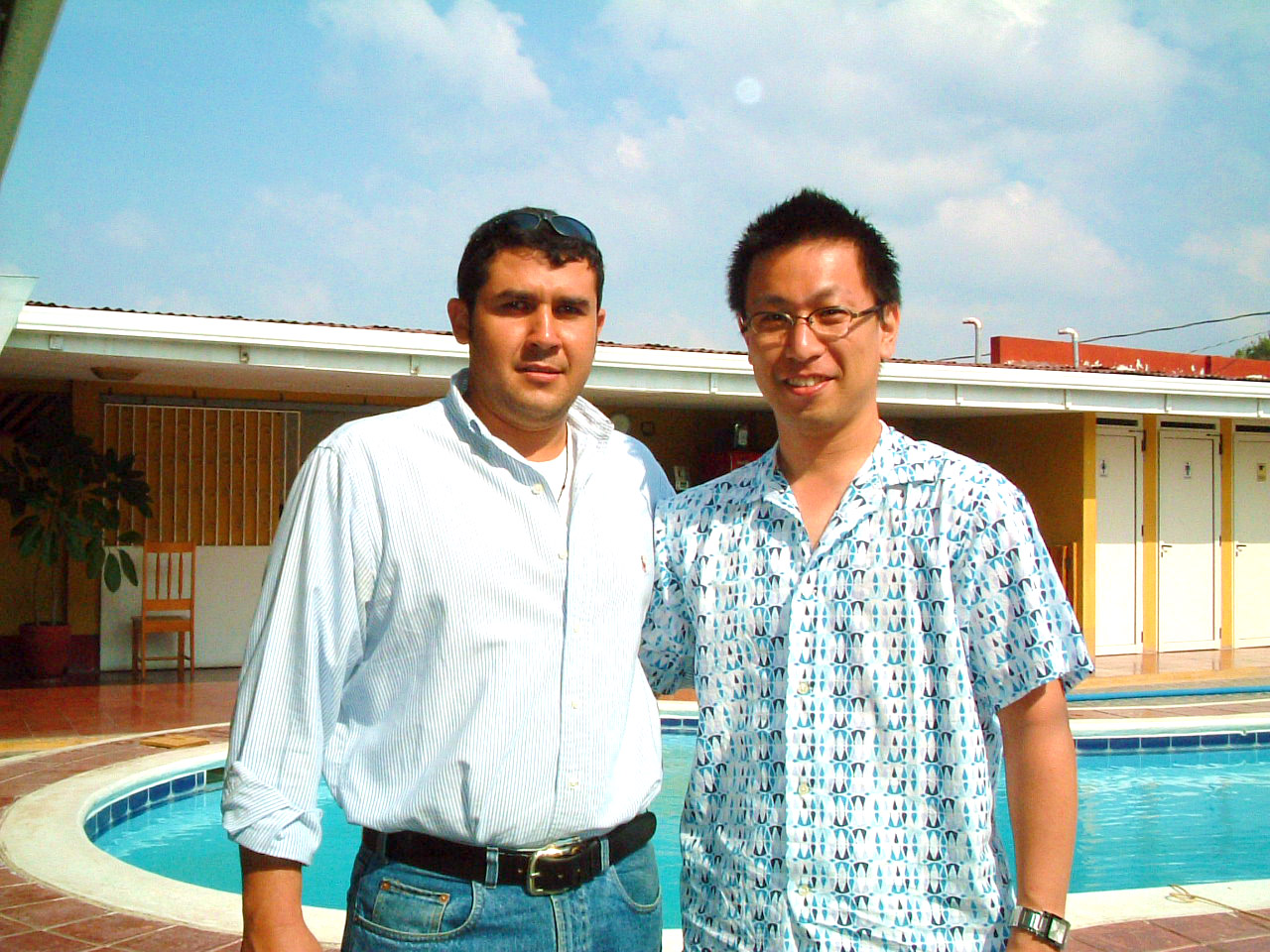 2006年ニカラグアカップオブエクセレンスで初めてセルジオさんと会った時の写真。 写真整理で出てきました(笑)