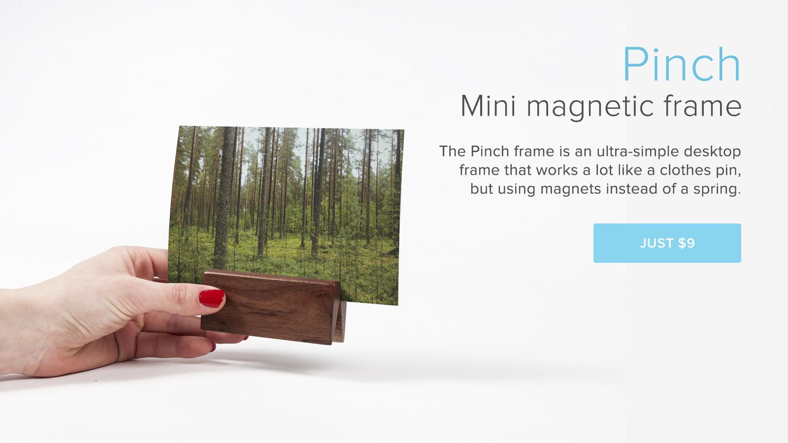Mini Magnetic Polaroid and Instagram frame