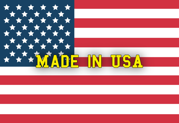 Proudly Made in USA.