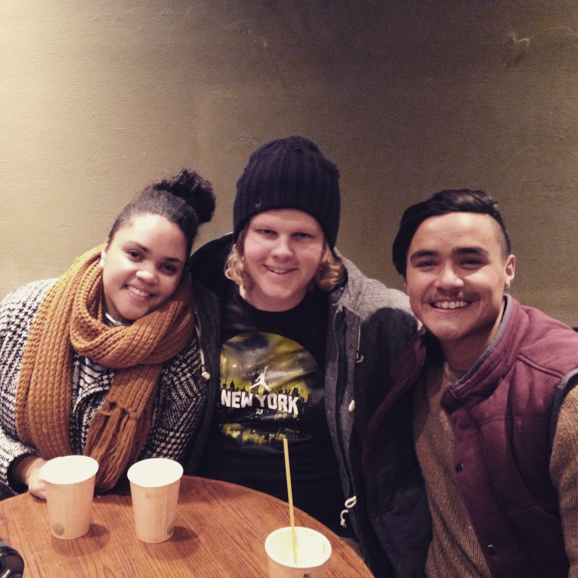 With my home-boy and home-girl from my home state. To see Rhi and Hayden was so special. They are special lovers. Chai time with old friends, in a snow town = the dream.