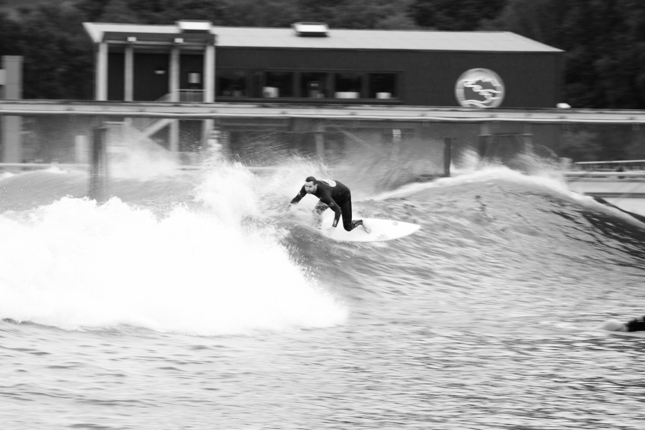 Brucey also rips. Forever has he ripped. Perpetually will he rip. Style, flow, attack, #bam. He never wastes a wave.