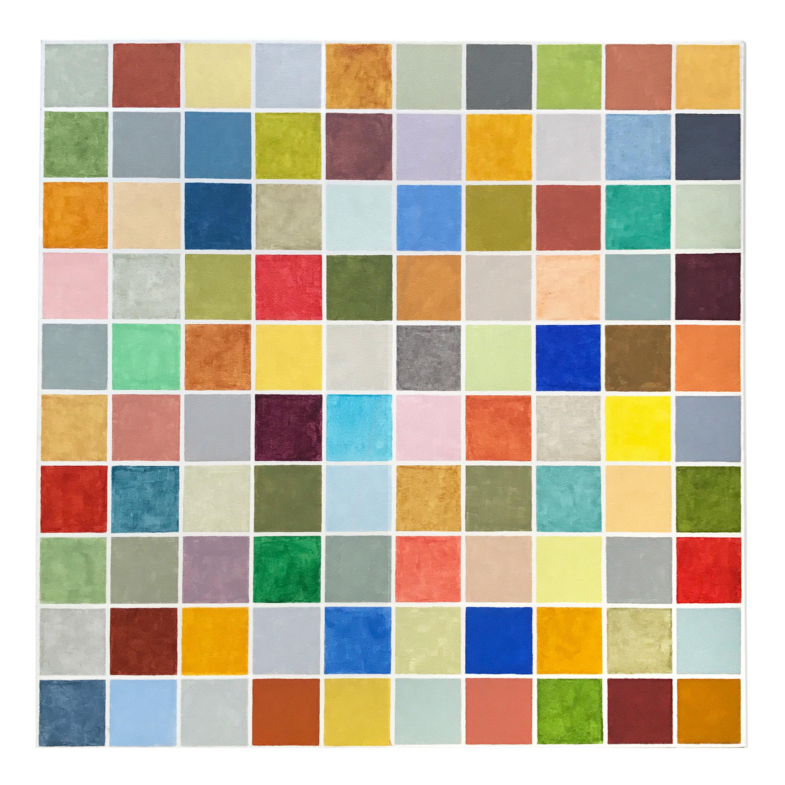 100 squares 100 colors