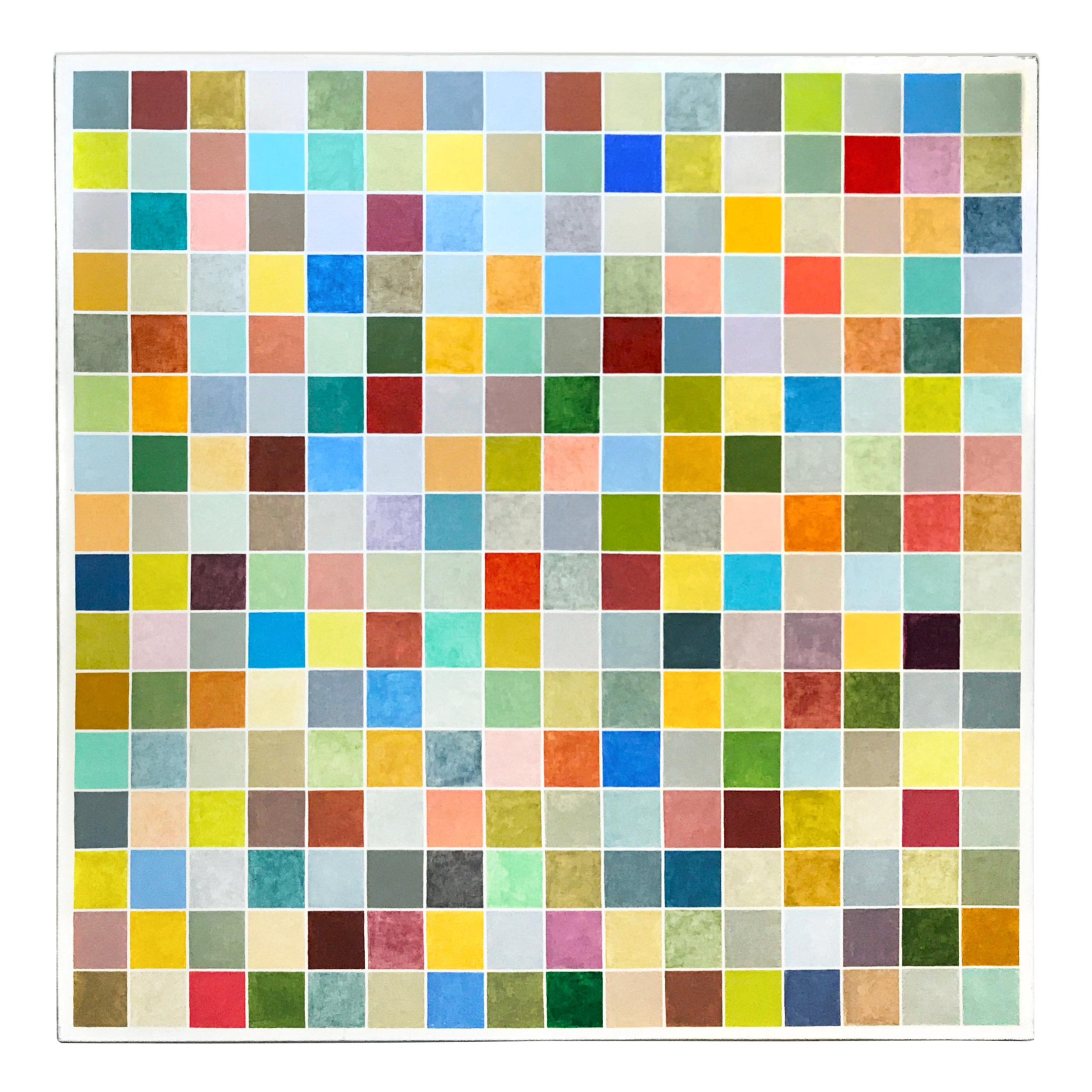 256 squares 256 colors
