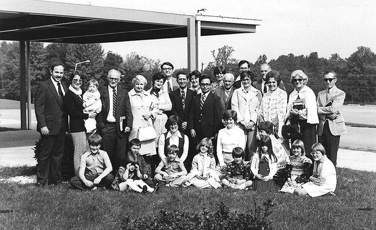 Brick Lane officially began meeting as a church for the first time on Sunday, October 14, 1977 at the Twin Valley Elementary Center.