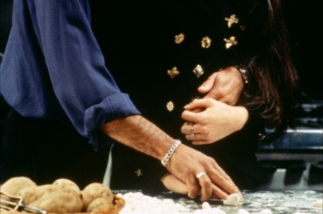 Everyone remembers that famous scene from the Godfather III.  Now we all know how to make Gnocchi....