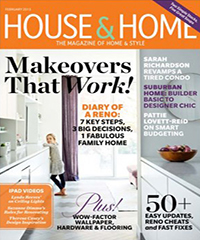 """Makeovers That Work: Suburban Retreat"" House & Home, Feb 2013"