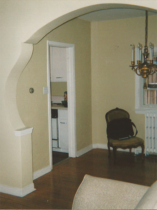 Casey Design|Planning Group Inc. eclectic large interior design project (before).