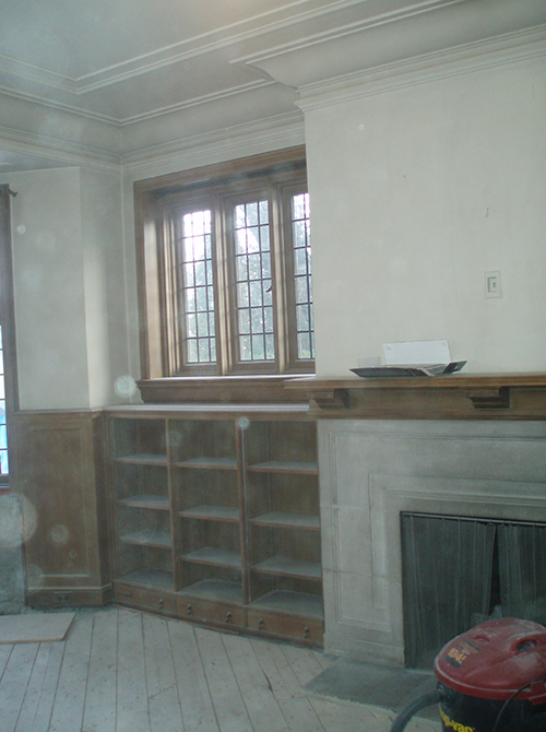 Casey Design|Planning Group Inc. traditional (Tudor) large interior design project (before).
