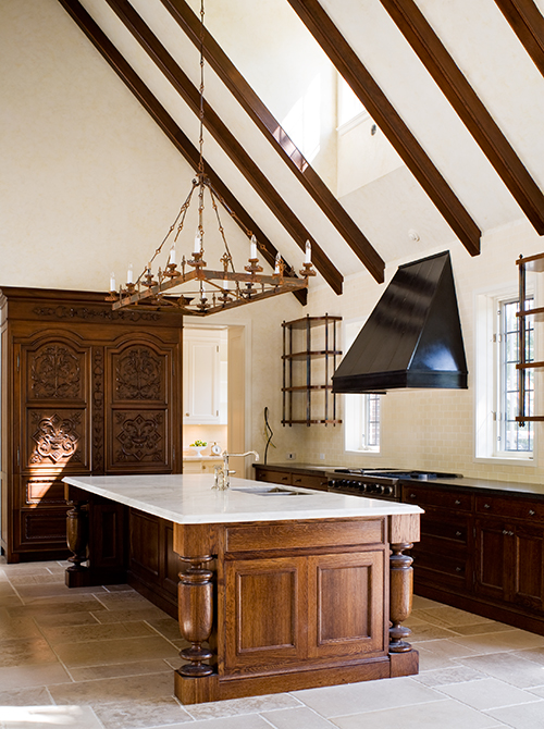 Casey Design|Planning Group Inc. traditional (Tudor) large interior design project (after).