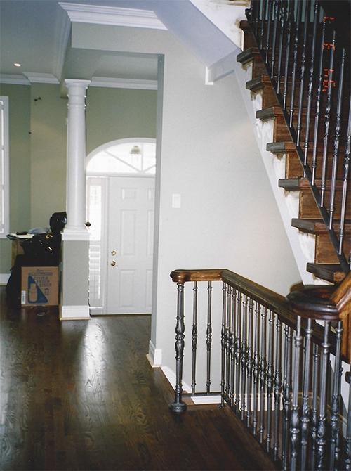 Casey Design|Planning Group Inc. eclectic medium interior design project (before).