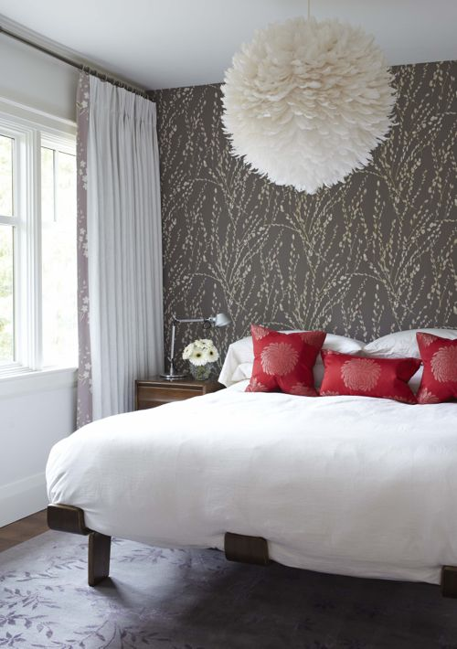 Bedroom with eye catching elements (Photo by Michael Graydon)