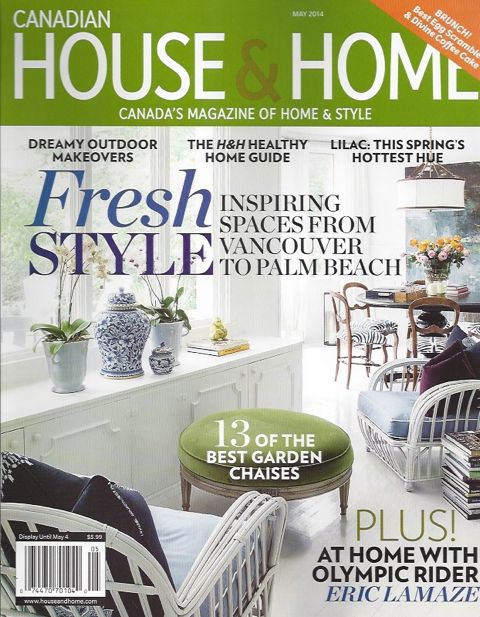"""Casey Design/Planning Group is featured in the May 2014  House & Home  """"Inspired Home"""" issue."""