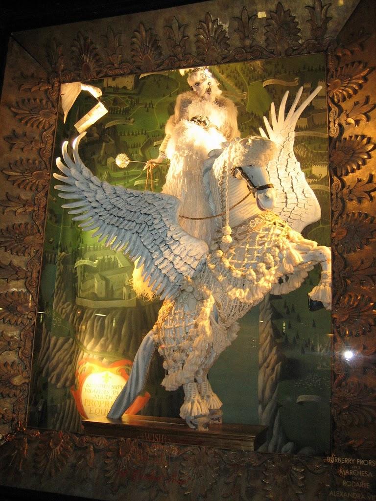 Bergdorf Goodman version of the Christmas Angel.