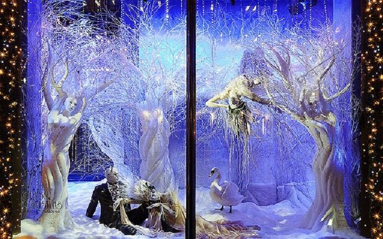 Bergdorf Goodman Winter White Wonderland.