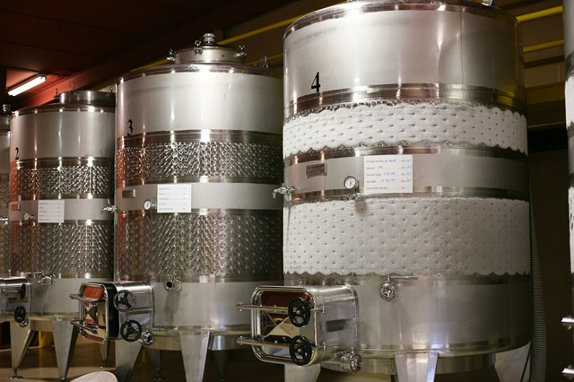 Stainless Tanks with Cooling Jackets