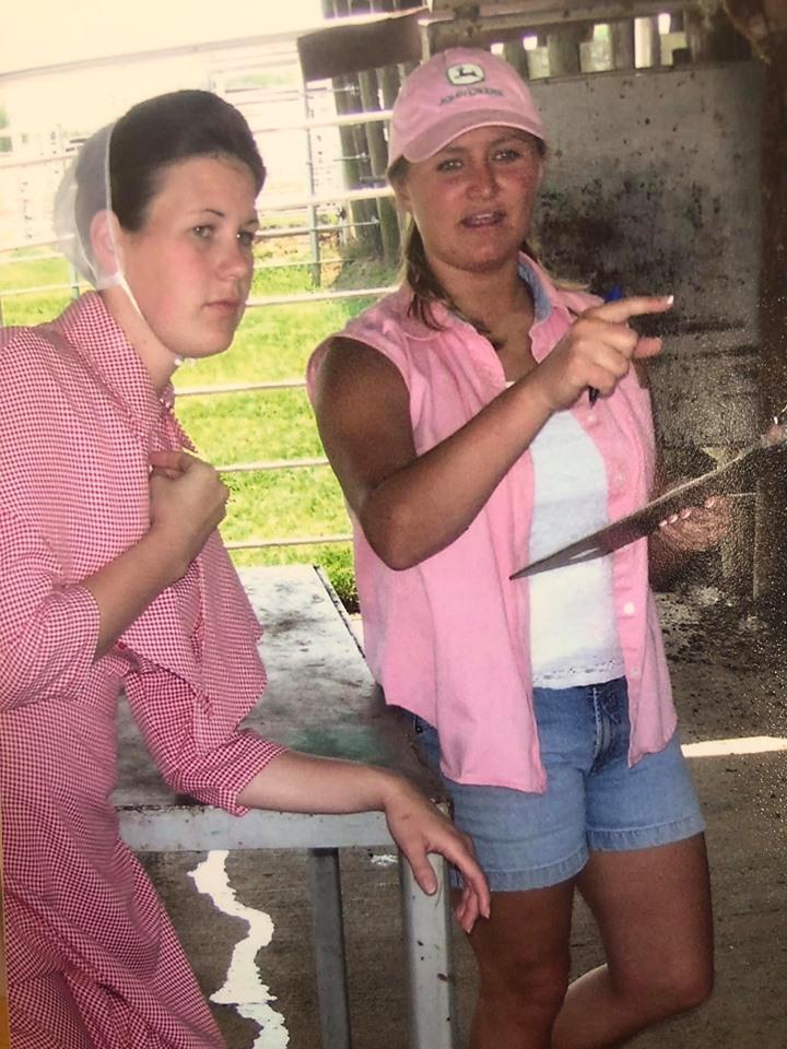 Farm girls first!