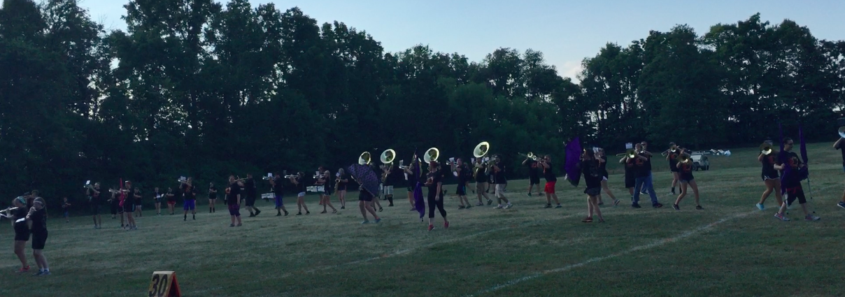 Parent Preview Night at Band Camp 2016